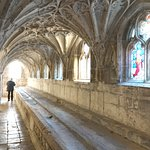 Inside the Cloisters - where the monks used to wash