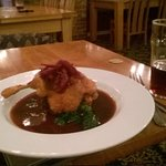Duck Breast in wine and blackcurrent jus