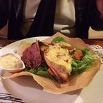 la salade bergere avec sa vinaigrette revisitée