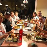 Enjoyed a wonderful meal with family from Michigan.