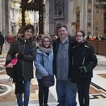 In Vatican City with Paola (guide)