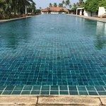 Inviting pool.
