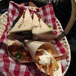 Lunch Break - Chicken and pineapple club sandwich