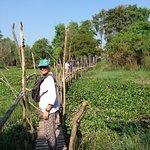 Visit to Cham Village in Cambodia