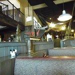 Main dining areas