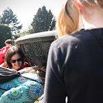 Fun on a tour in the Royal Garden