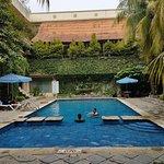 Hotellets basseng
