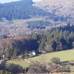 Beautiful Dartmoor and village of Sheepstor