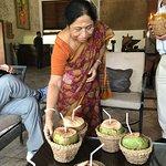 Welcome with Tender Coconut water at the ZURI Kumarakom
