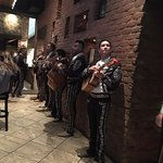 Excellent Mariachi band at Pancho Villas played for about an hour.