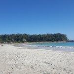 Caracas beach looking east
