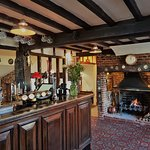 The bar and open fire