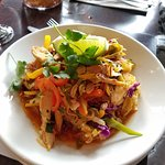 Just one of the delicious Thai dishes we ordered!