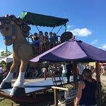 Worlds largest rocking horse