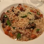 Filet tip risotto
