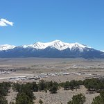 Collegiate peaks above Buena Vista
