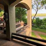 Chobe Lodge dining terrace
