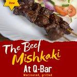 Our famous Beef Mishkaki