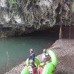 Cave tubing.