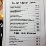 Pizza Roma Cafe French Italian Dishes and Pizza