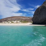 Trip to a deserted beach near La paz
