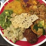 My plate from the buffet