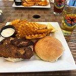 Hogfish, fries & beer