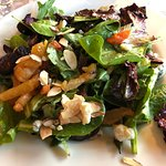 Winter Mixed Greens Salad