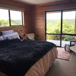 Guest room in lodge