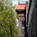 Historic Window: West Side of Olvera
