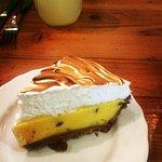 Lilikoi (passionfruit) Meringue - yum!!