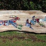 Public art bench (The ties that Bind)