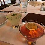 blood orange martini & pear martini?