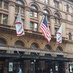 Carnegie Hall is across the street