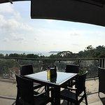 Beautiful restaurant view