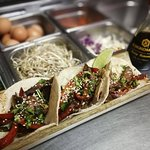 Tacos are not just for Tuesday. Check out of Asian inspired taco options.