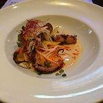 Charred octopus