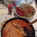 Kimchi Ramen and spicy Ramen^^