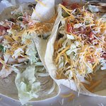 Grilled blackend fish tacos