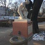 Labetrunkbrunnen statue at Stadtpark