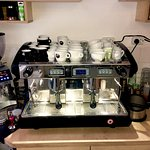 Every single espresso based drink is Handcrafted on our machine!