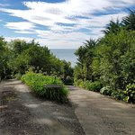 Rangimarie Beachstay - Entrance to property