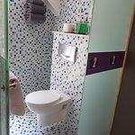 Suite with Terrace: Mini Bathroom