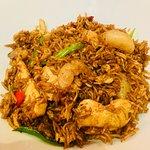 Nasi goreng-Sampans Oriental Restaurant Feb 2018