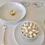 Lemon Tart and Crispy Meringue