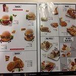 KFC Dhaka menu