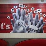 KFC Dhaka mural