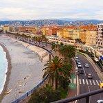 Vue sur la baie de Nice