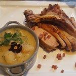 Porc d'antan à la picarde et haricots de Soissons