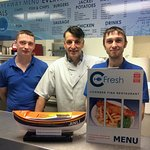 Best fish and chips in Blackpool and also a supporter of the RNLI.